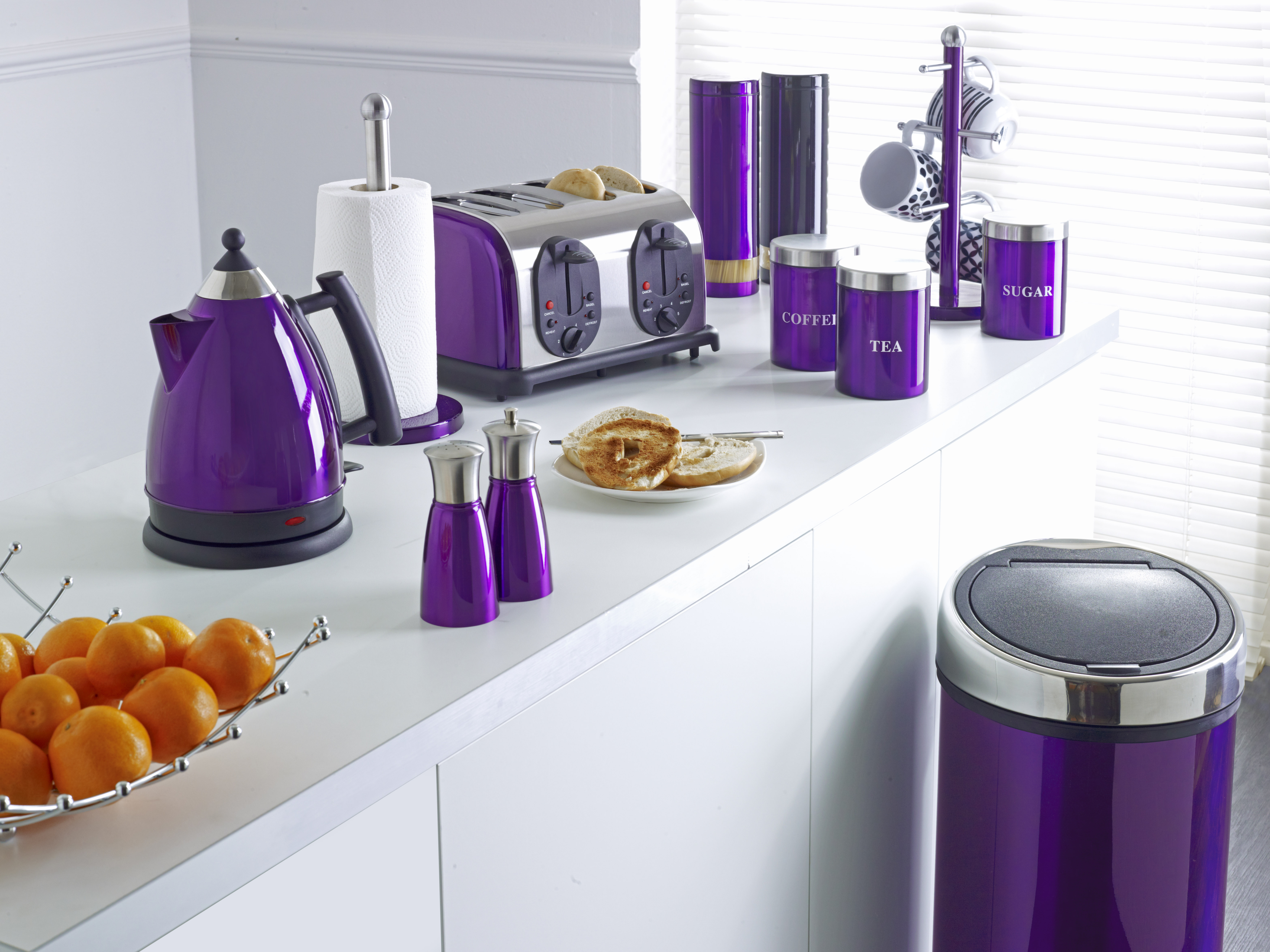 Home Furniture Decoration Kitchen Accessories Purple