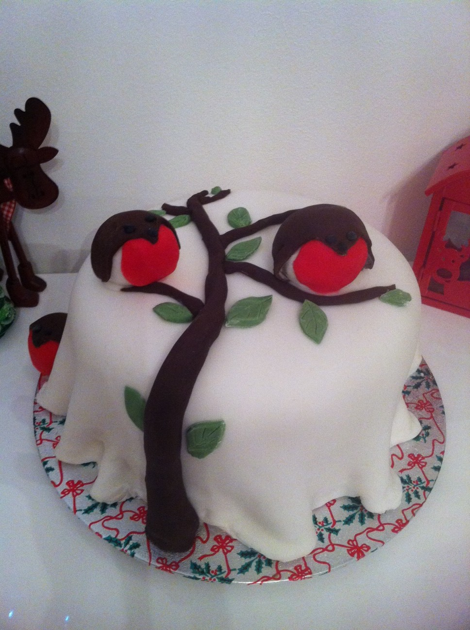 Christmas Cake Ideas Robin : 301 Moved Permanently