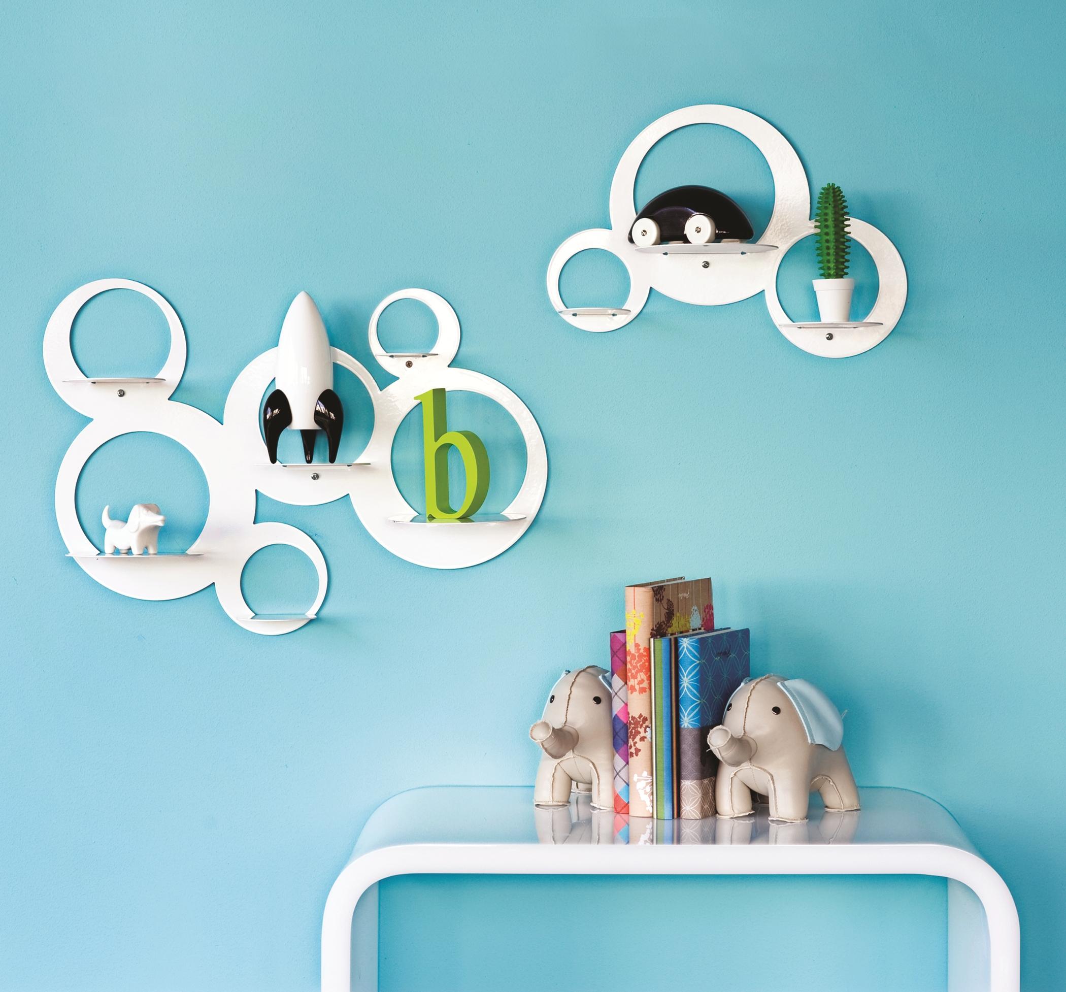 Display shelves the treasure hunter well designed for Cool homeware uk
