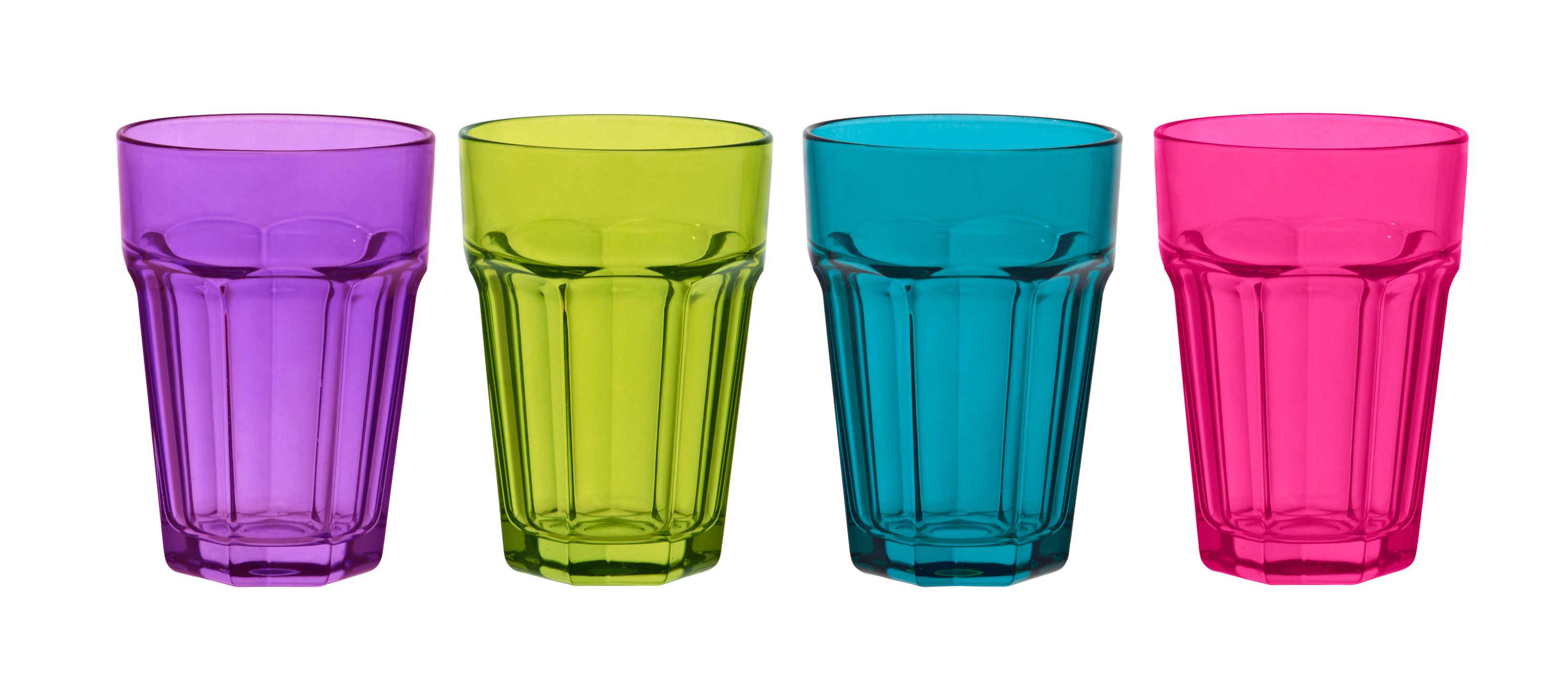 Different Style Drinking Glasses