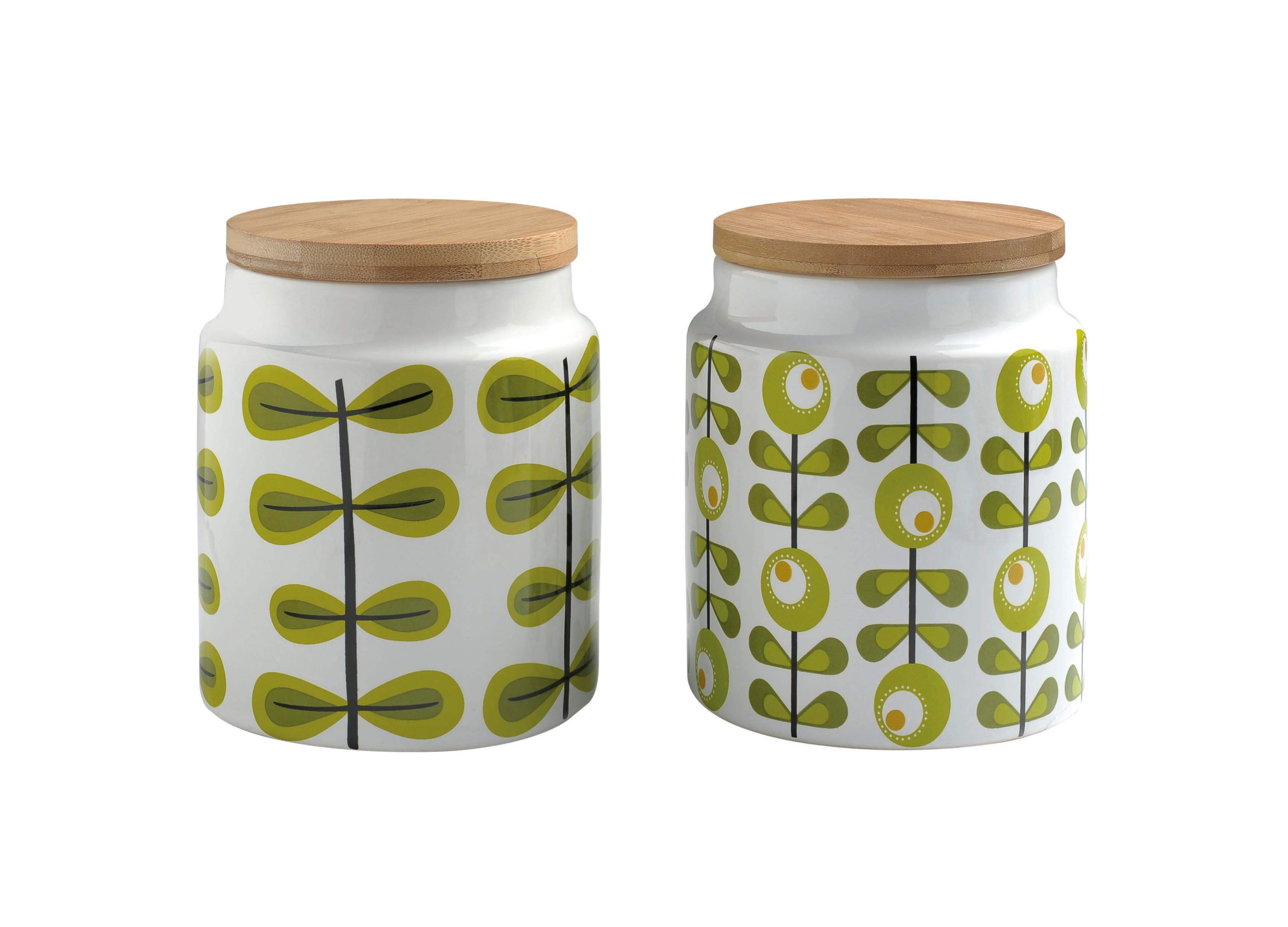 Orla kiely storage jar the treasure hunter well for Cheap quirky homeware