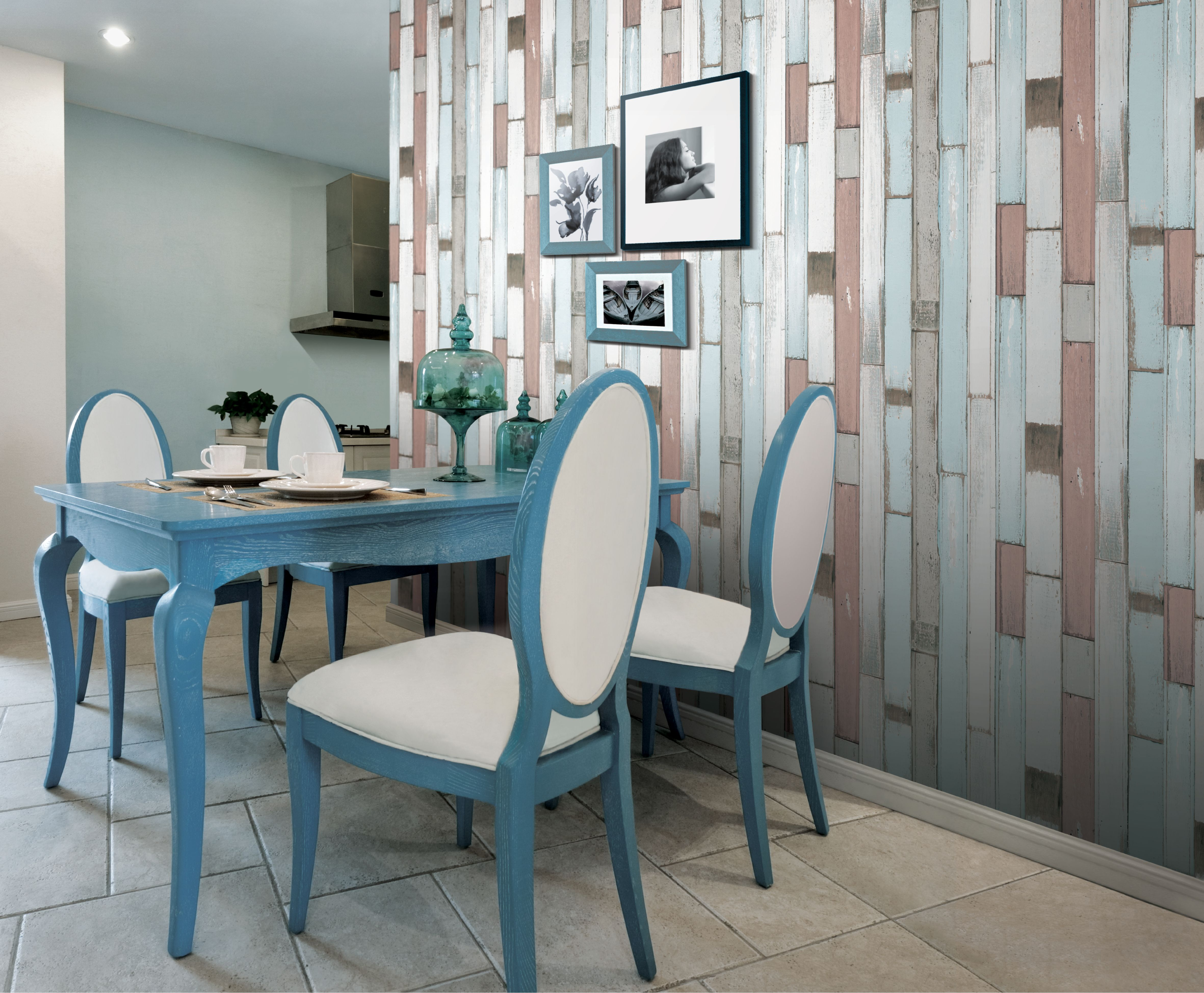 Superb img of multi wood panelling by Serendipity at wallpaperdirect.co.uk £34.95  with #314F5E color and 4724x3898 pixels
