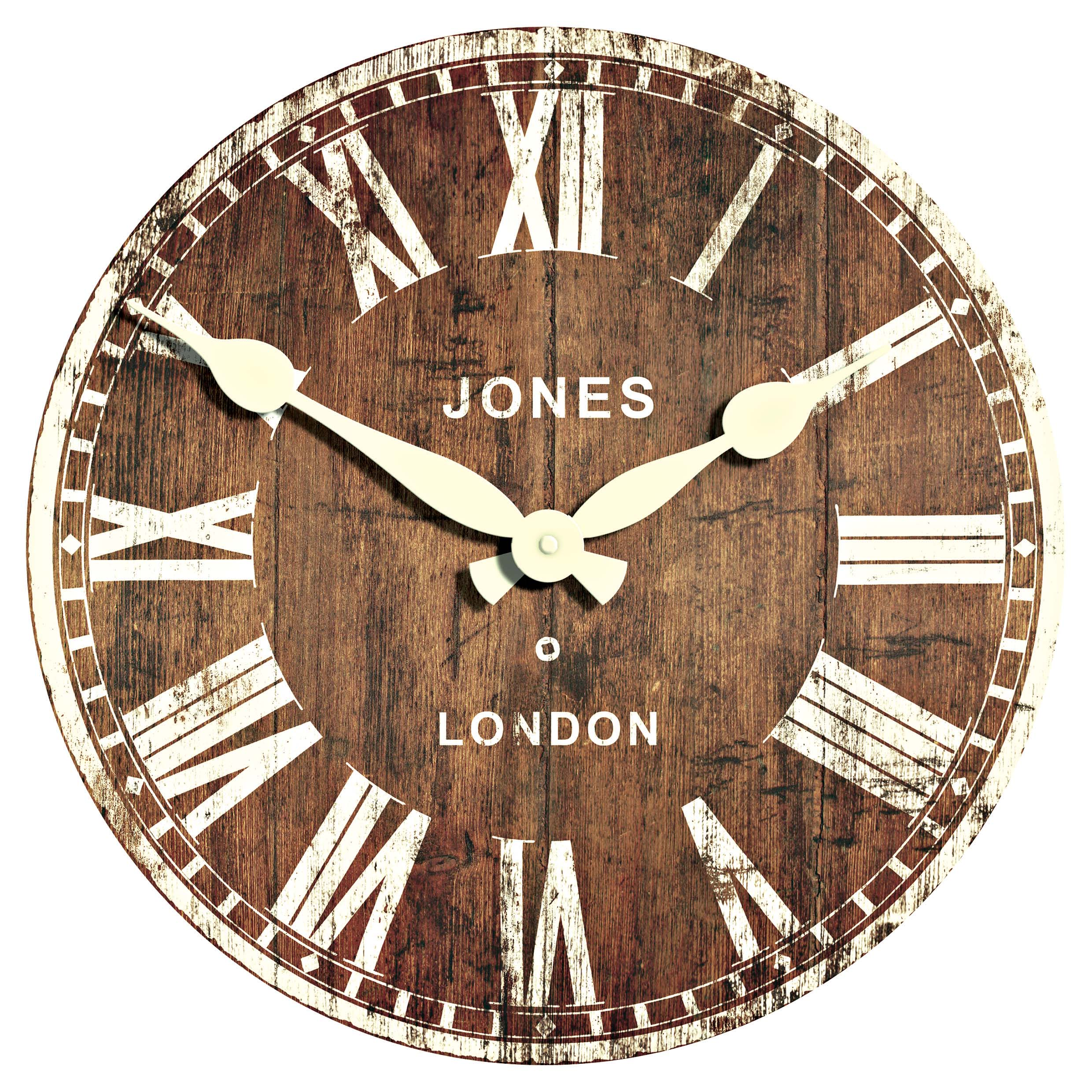 Retro Wall Clock The Treasure Hunter Well Designed