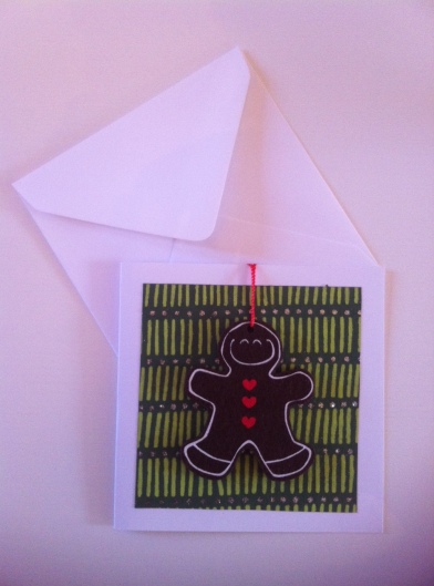 Cmas card with envelope