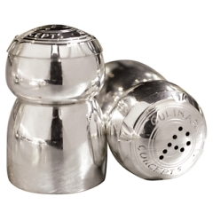 Cmas Jill culinary concepts champagne salt and pepper pots John Lewis