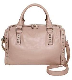 Cmas Jill dusky pink stud bowlling bag £32.50