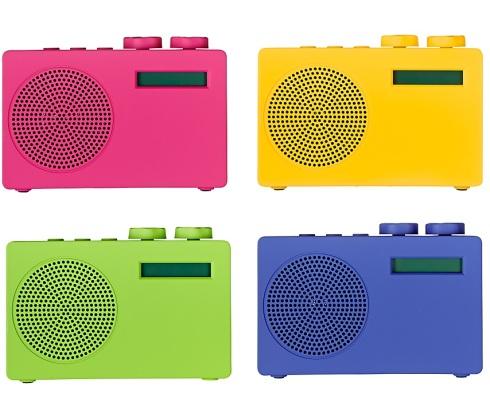 John Lewis Spectrum DAB radio £29.95 pink