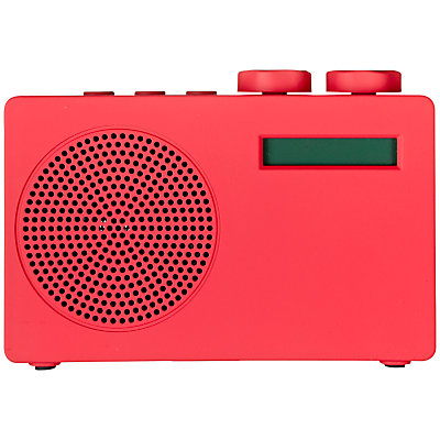 John Lewis Spectrum DAB radio £29.95 red