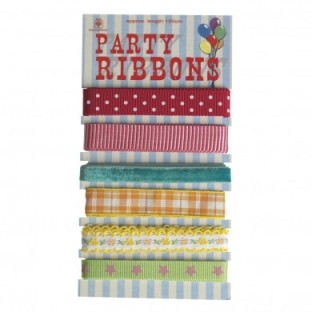 Dotcomgiftshop sale set of ribbons party £2.95 was £6.95