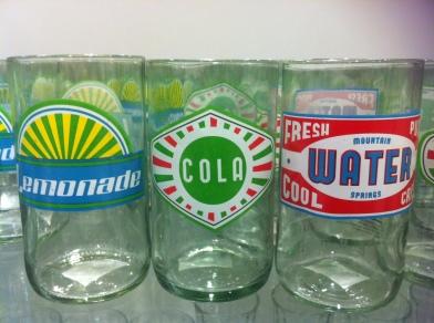 JL soda glasses