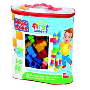 Presents for first birthdays Mega Bloks big building bag classic