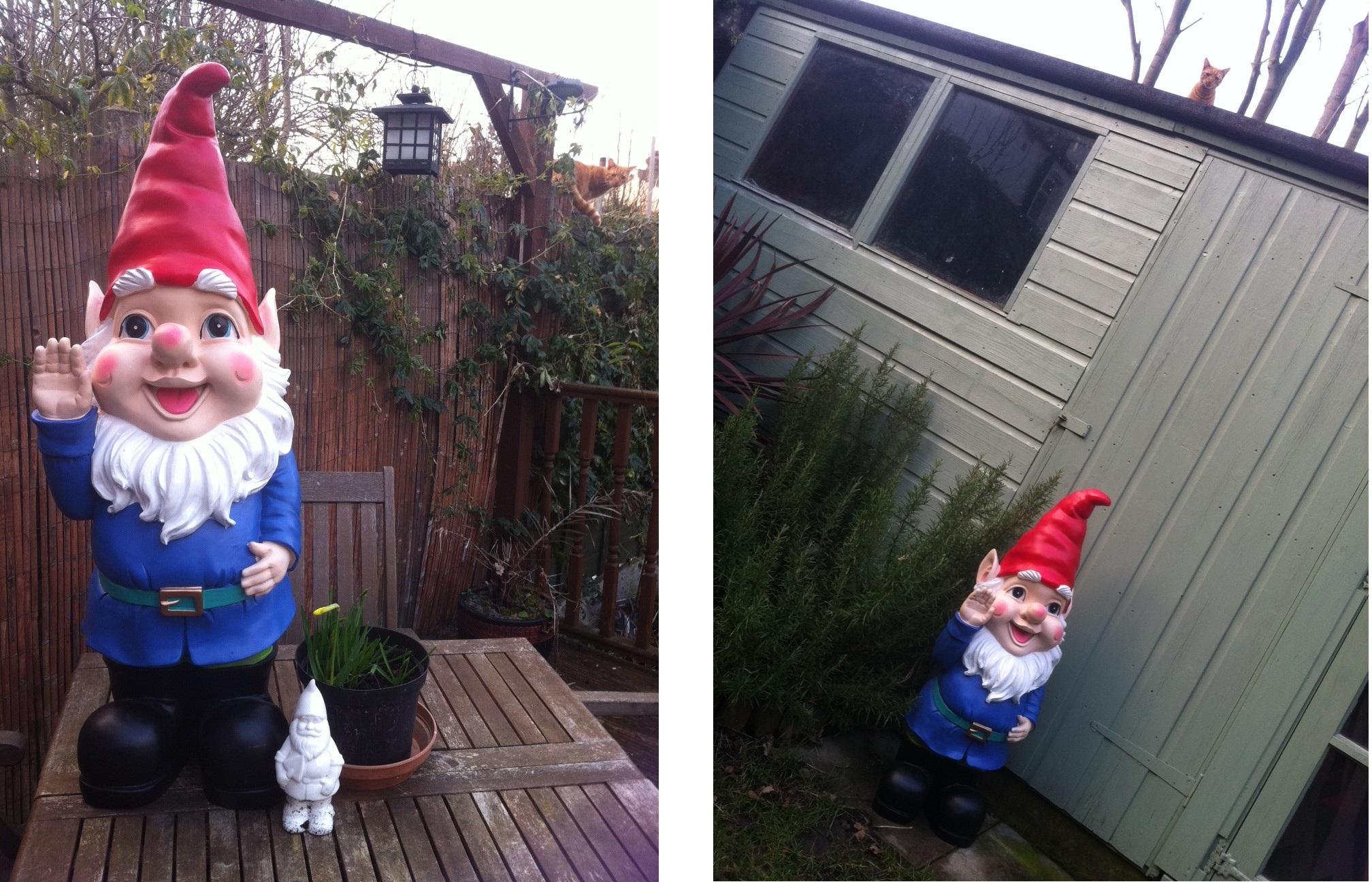 Gnome In Garden: The Treasure Hunter - Well-designed