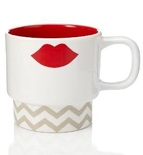 VDay hot lips ceramic mug £5 M&S