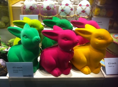 Bunny money boxes £3 each Tiger Stores UK