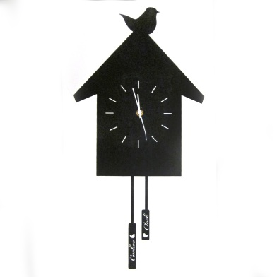 CLOCKS (QUIRKY) Cuckoo canvas clock £14.99 Dunelm Mill
