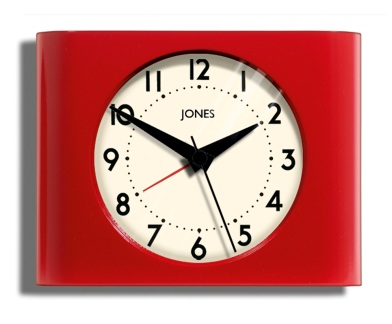 CLOCKS (RETRO) Jones Strike Mantle Clock £10 Asda