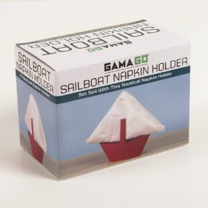 Gama Go sailboat napkin holder