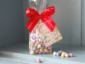 Itsy Bitsy bag of mini eggs Hope & Greenwood £4.99