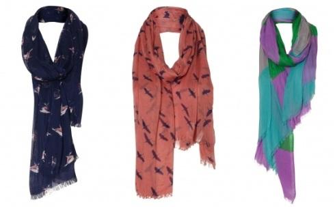 Oliver Bonas Finch print scarf, £18