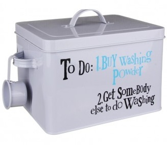 Washing powder tin The Bright Side £22.45