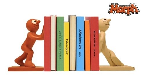 culturelabel morph and chas bookends £20