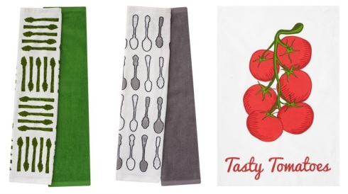 Matalan 2-pack-printed-kitchen-hand-towels