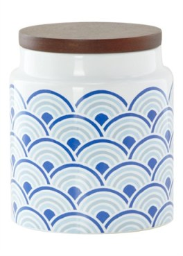 Matalan ceramic-storage-canister £5 wave design