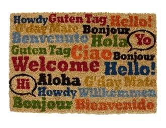 Matalan welcome-brights-doormat-40cm-x-60cm £5