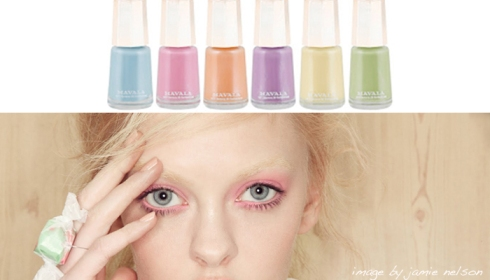 Mavala delicious pastel nail polishes varnishes