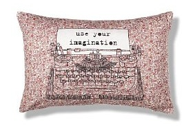 Typewriter floral cushion £15 M&S Marks and Spencer