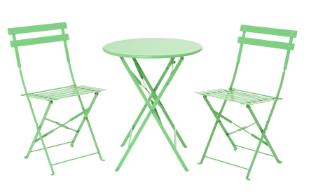 GARDENS - BISTRO SET Courtado green bistro set £79 M&S