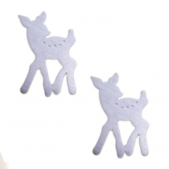 oliver_bonas silver fawn earrings £8 pair