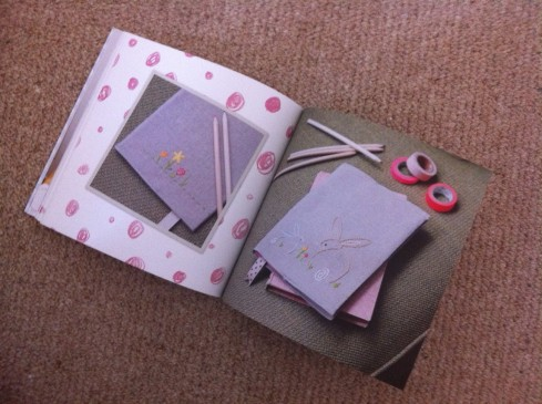 Little Sew and Sew rabbit notebooks