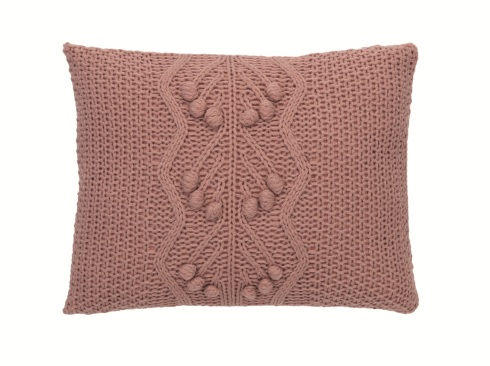 Pink Bobble Knitted Cushion £12 Sainsburys