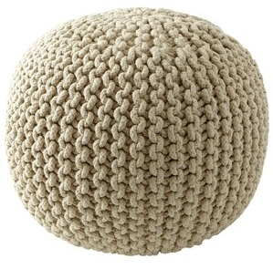 Very.co.uk Sabichi knitted pouffe £59