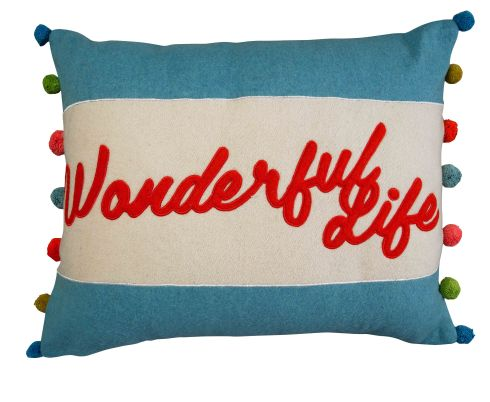 ASDA AW13 Modern Memories Wonderful Life Cushion