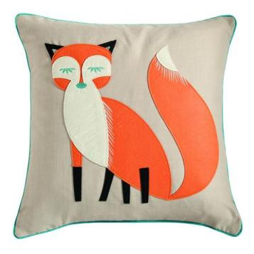 Dunelm Mill felt fox cushion £12.99