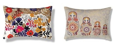 saffy print cushion £25 M&S
