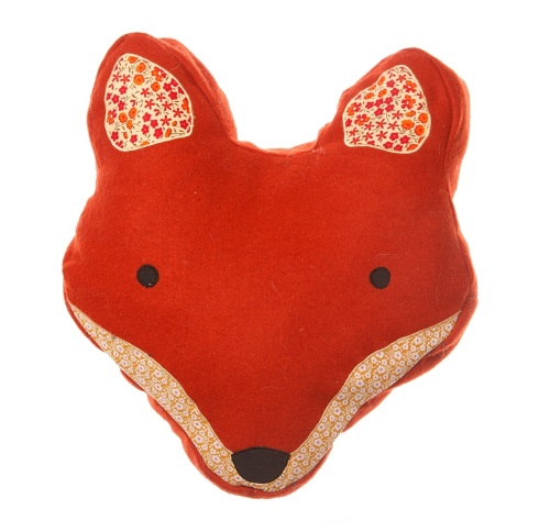 The Oak Room fox cushion