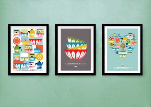 Visual Philosophy on Etsy set of three kitchen prints