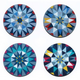 kaleidoscope-tablemat-set-fun-makes-good £35 Howkapow