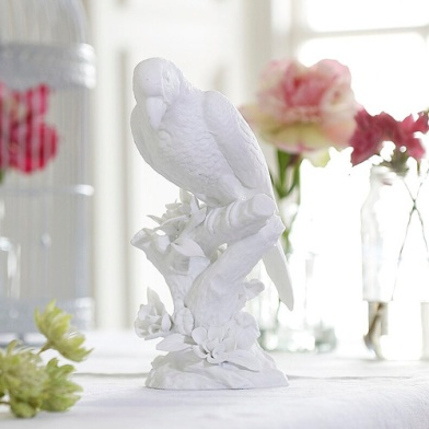 small porcelain parrot £12.50 An Angel At My Table