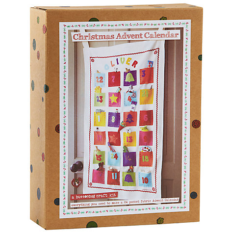 Buttonbag make your own advent calendar £16