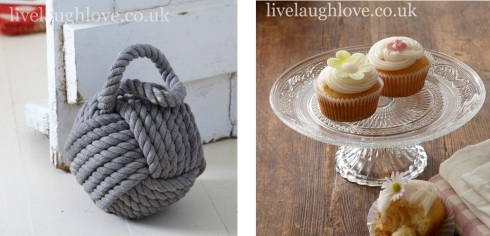 live laugh love knot doorstop