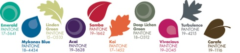 Pantone colour predictions Autumn Winter 2013