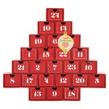 Tesco chocolate advent calendar £10