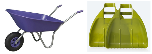 Garden gifts wheelbarrow grabbers