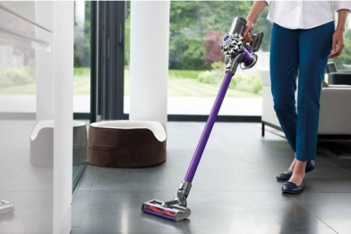 Dyson DC59 walking with it