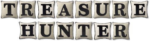 Marks and Spencer initial letter cushions