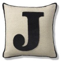 Marks and Spencer J cushion